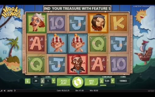 Игровой автомат Hooks Heroes из клуба Вулкан: где поиграть, что за игра