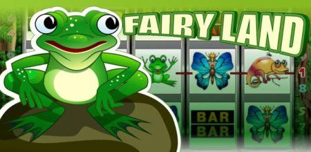 В казино Фараон можно поиграть в легендарный слот Fairy Land