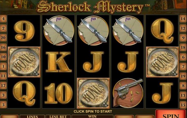 Хотите поиграть в автомат Sherlock Mystery на реальные деньги? Пробуйте!
