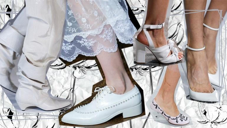 Секреты: как сохранить и ухаживать за белой обувью