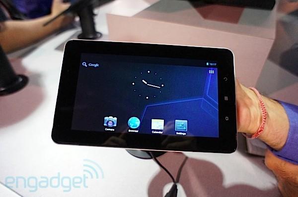ViewSonic представит планшетный компьютер с двумя операционными системами