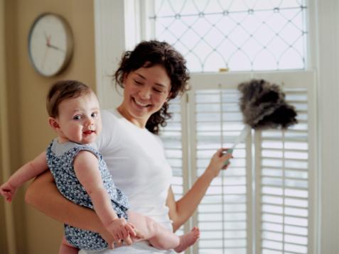 Как все успевать с маленьким ребенком: простые правила