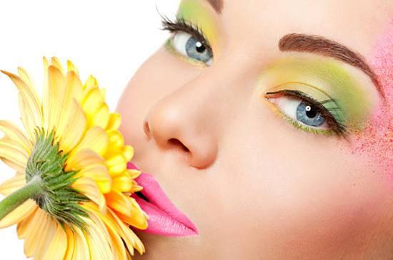 Весенний макияж. Первая часть