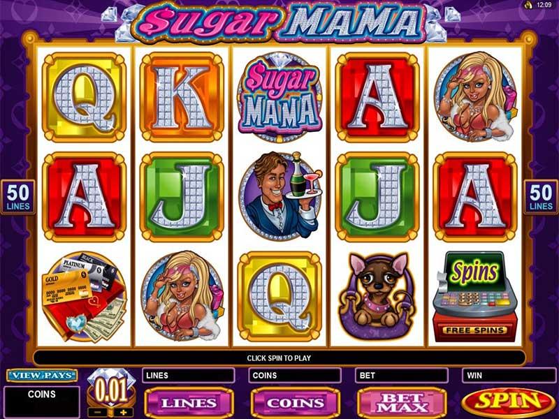 Sugar Mama. Лучший игровой автомат для игры на деньги
