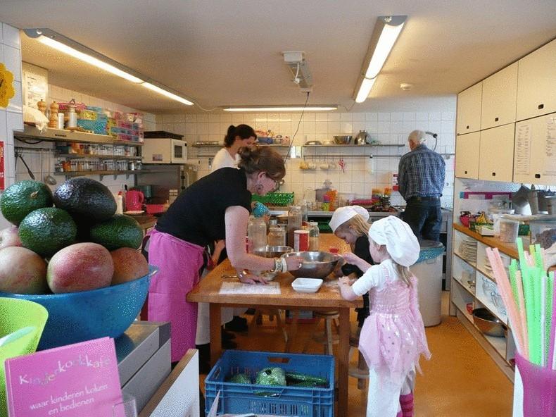 Детский ресторан в Нидерландах «Kinderkookkafe»