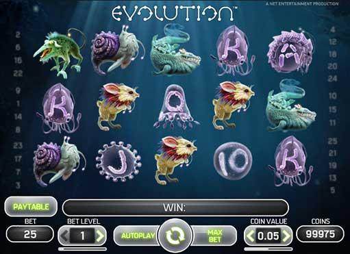 Азино и игровой автомат Evolution