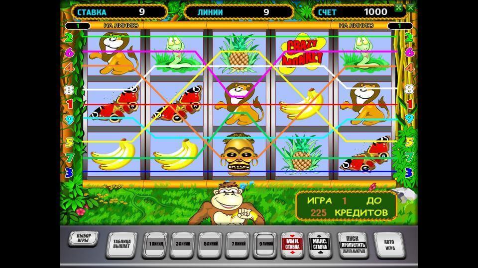 Игровой автомат crazy monkey вулкан. Играем онлайн